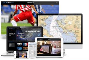 KVH's IP MobileCast platform